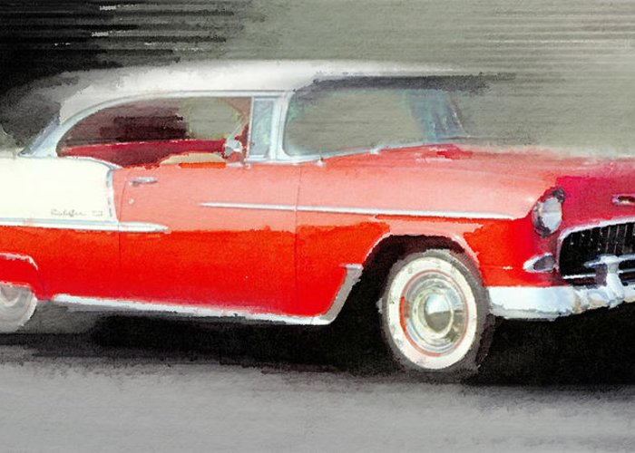 Old Chevrolet Greeting Cards