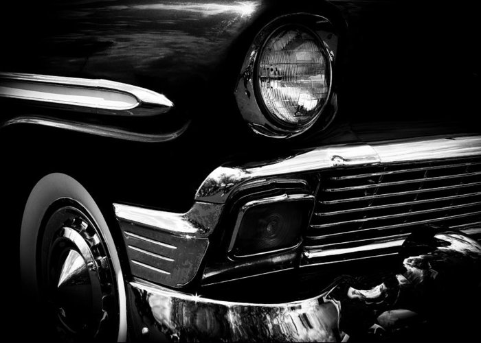 56 Greeting Card featuring the photograph 1956 Chevrolet Bel Air by David Patterson