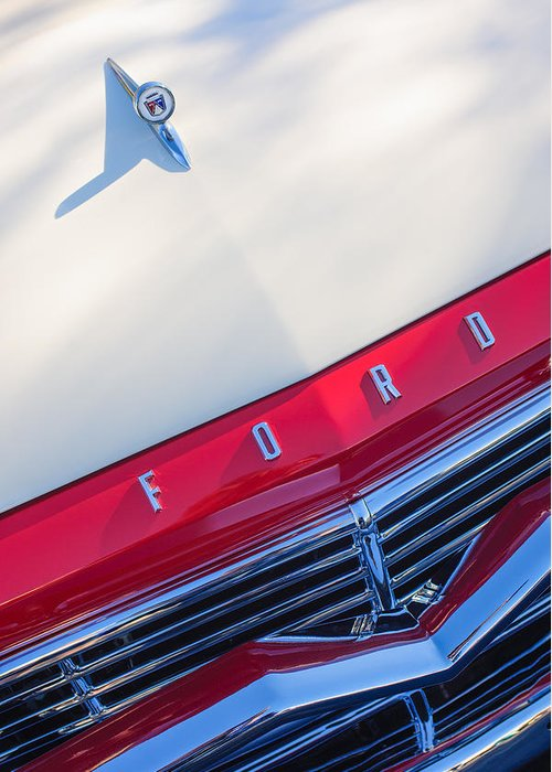 1957 Ford Custom Greeting Cards