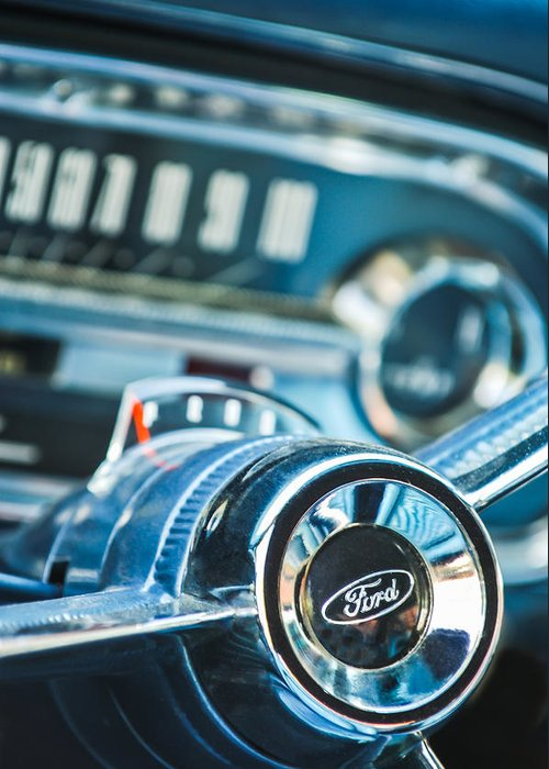 1963 Ford Photographs Greeting Cards