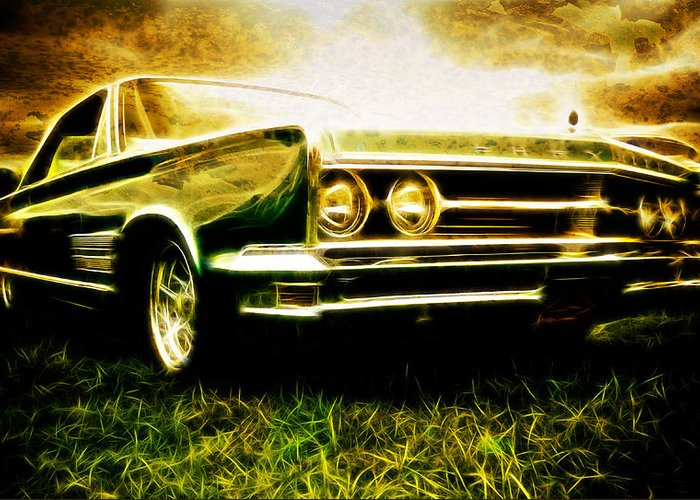 Chrysler 300 Greeting Card featuring the photograph 1966 Chrysler 300 by Phil 'motography' Clark
