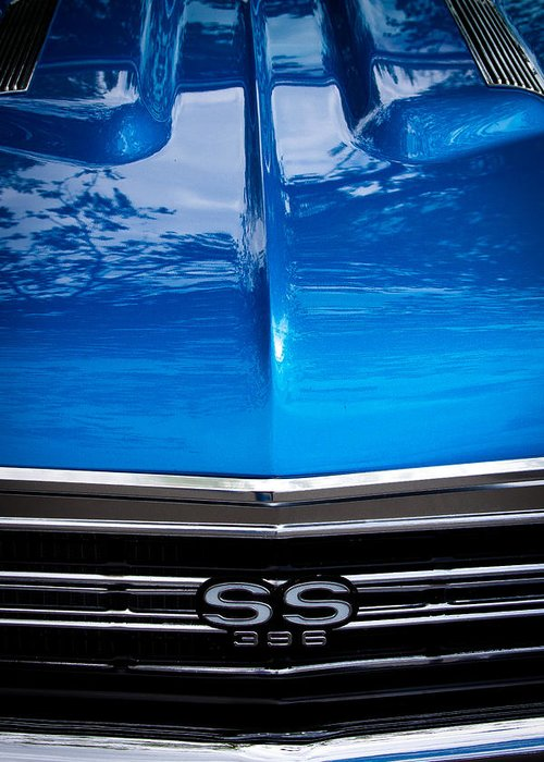 67 Greeting Card featuring the photograph 1967 Chevy Chevelle Ss by David Patterson