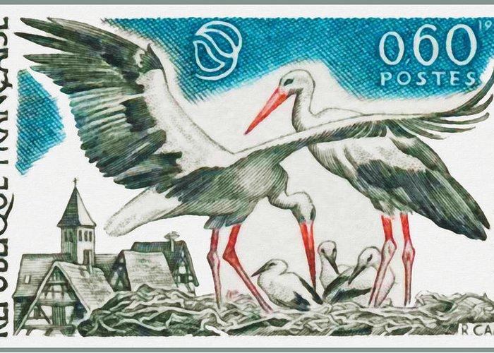 Haut-rhin Paintings Greeting Cards