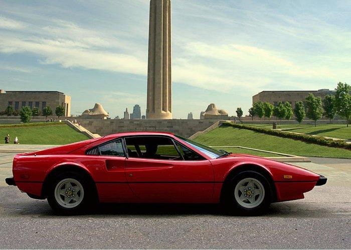 Ferrari 308 Gts For Sale >> 1979 Ferrari 308 Gtb Greeting Card