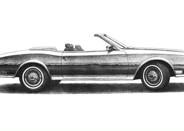 Buick Riviera Convertible Greeting Card For Sale By Nick Toth - Toth buick car show