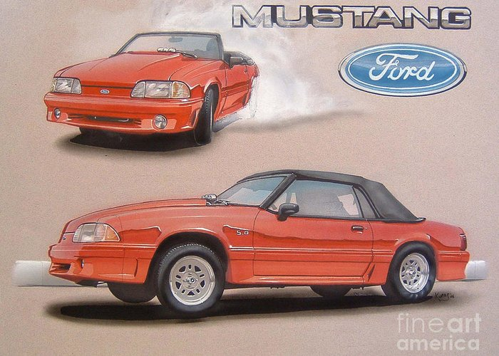 Mustang 5.0 Stationery