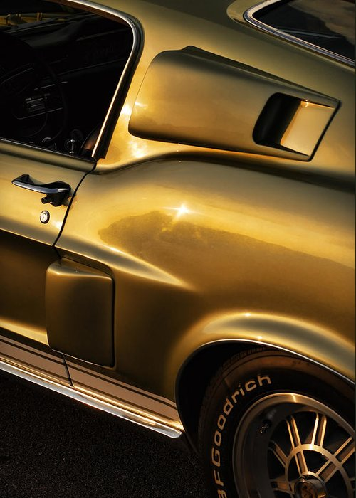 1968 Greeting Card featuring the photograph 1968 Ford Mustang Shelby Gt 350 by Gordon Dean II