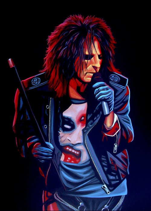 Alice Cooper Greeting Cards