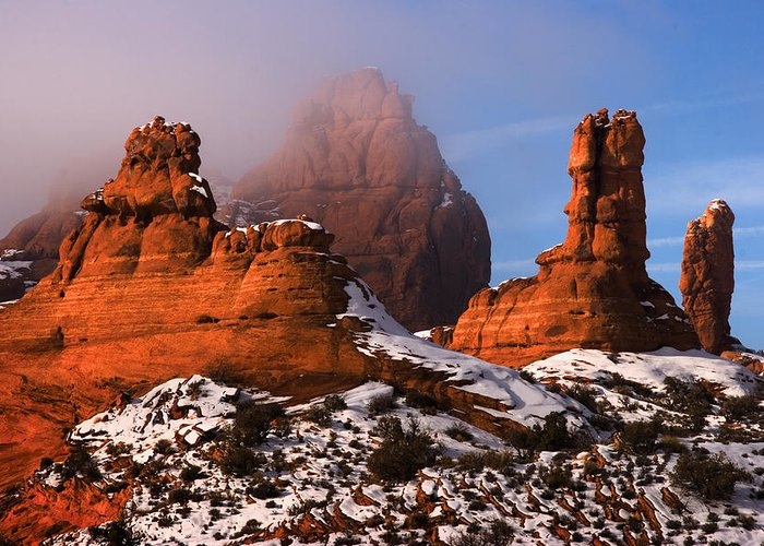 Garden Of Eden Greeting Card featuring the photograph Arches National Park Utah by Utah Images