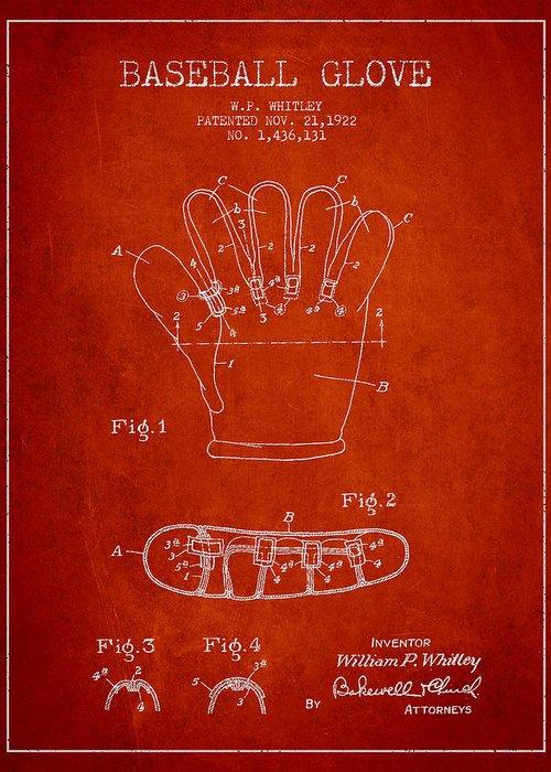 Baseball Gloves Greeting Cards
