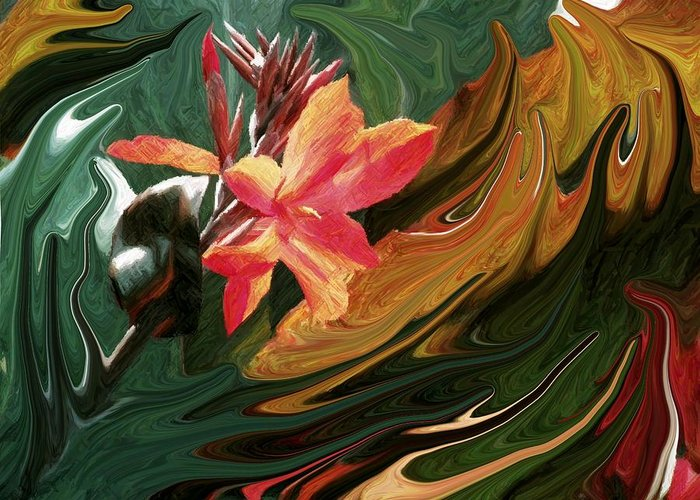 Bird Of Paradise Greeting Card featuring the photograph Bird Of Paradise 3 by Jim Darnall