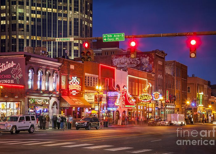 Music City Nashville Greeting Cards