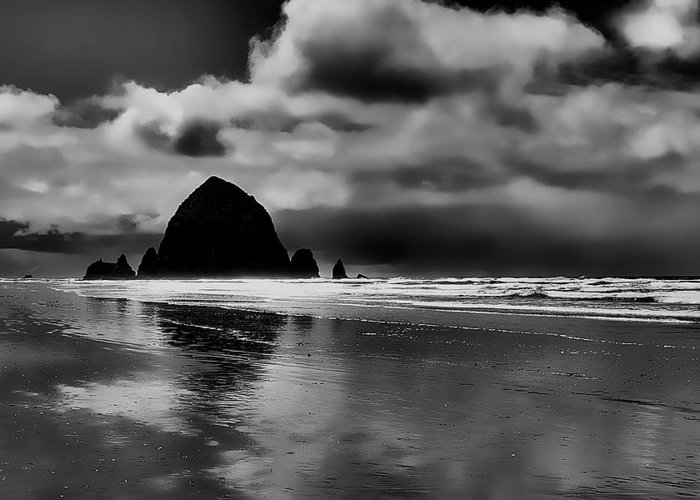 Cannon Beach Greeting Card featuring the photograph Cannon Beach - Oregon by David Patterson