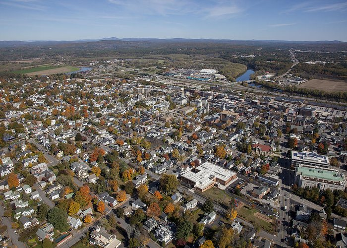 America Greeting Card featuring the photograph Concord, New Hampshire Nh by Dave Cleaveland