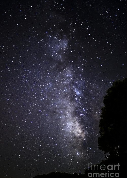 Stars Greeting Card featuring the photograph Dark Rift Of The Milky Way by Thomas R Fletcher