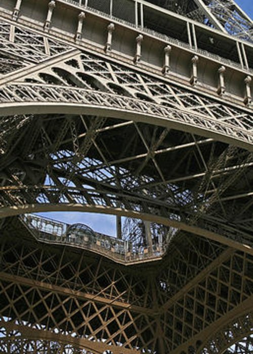 Eiffel Tower Photographs Greeting Card featuring the photograph Eiffel Tower by Gary Lobdell