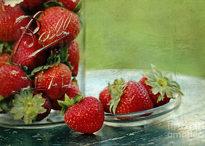 Kitchen Greeting Card featuring the photograph Fresh Berries by Darren Fisher
