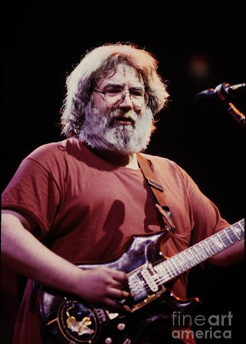 Folk Greeting Card featuring the photograph Grateful Dead by Concert Photos