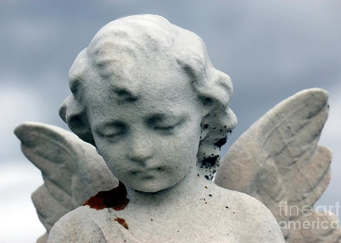 Angel Greeting Card featuring the photograph Guardian Angel by Sophie Vigneault