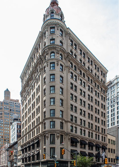 Beaux Arts Greeting Card featuring the photograph Johnston Building - Nomad Hotel by Kenneth Grant