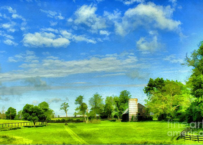 Farm Greeting Card featuring the photograph Kentucky Countryside by Darren Fisher