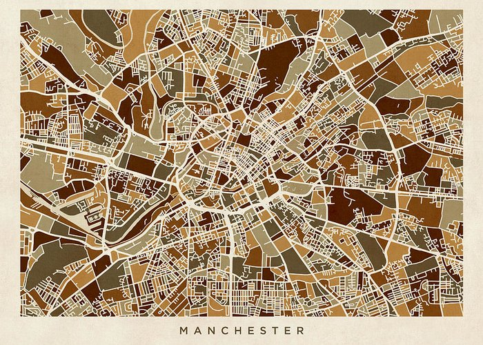 Greater Manchester Greeting Cards