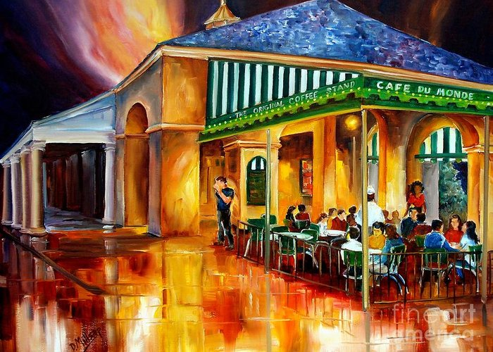 Designs Similar to Midnight At The Cafe Du Monde
