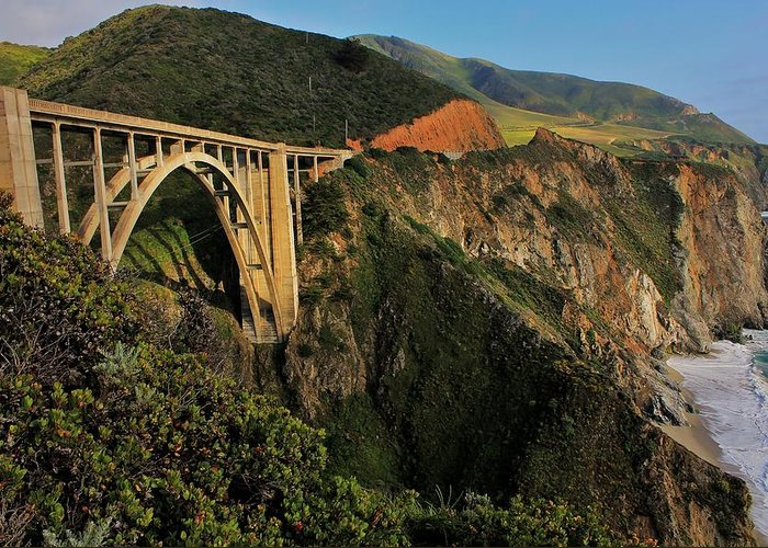 California Greeting Card featuring the photograph Pacific Coast Highway by Benjamin Yeager