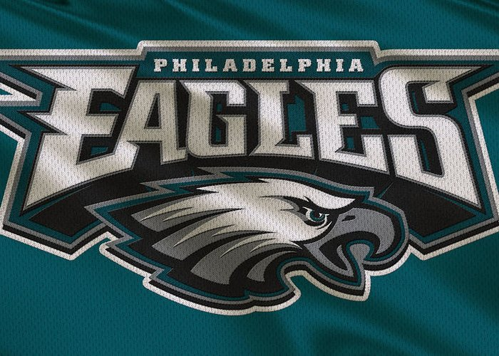 Eagles Greeting Card featuring the photograph Philadelphia Eagles Uniform  by Joe Hamilton 86120e796