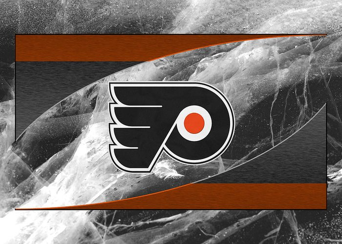 Flyers Greeting Card featuring the photograph Philadelphia Flyers by Joe Hamilton
