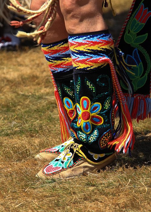 honor The Earth Greeting Card featuring the photograph Pow Wow 65 by Keith R Crowley