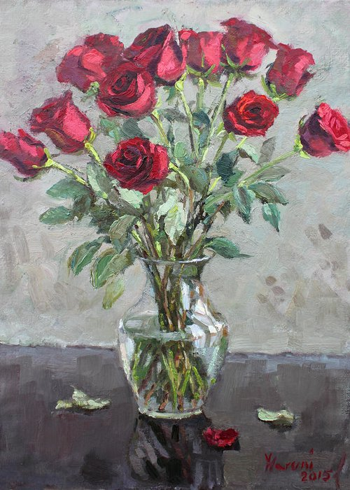 Red Rose Greeting Cards
