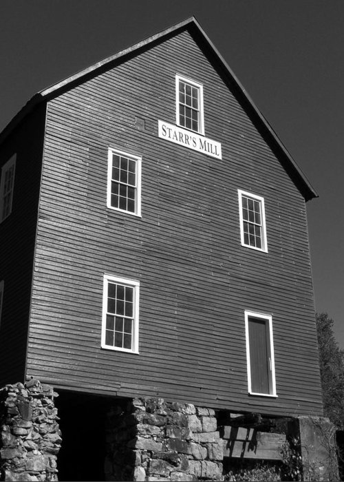 Bg East Wrestling Greeting Card featuring the photograph Starrs Mill Ga by Jake Hartz