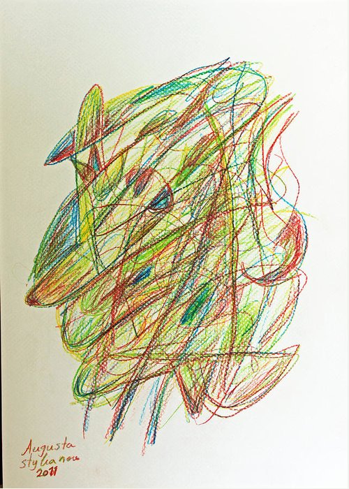 Subconscious Drawings Greeting Cards