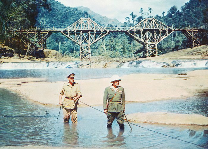 The Bridge On The River Kwai Greeting Card featuring the photograph The Bridge On The River Kwai by Silver Screen