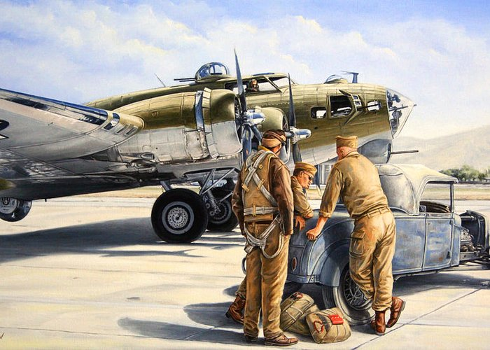 B-17 Greeting Cards