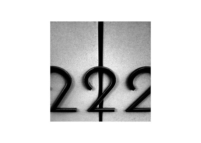 222 Greeting Card featuring the photograph 222_10.10.12 by Paul Hasara
