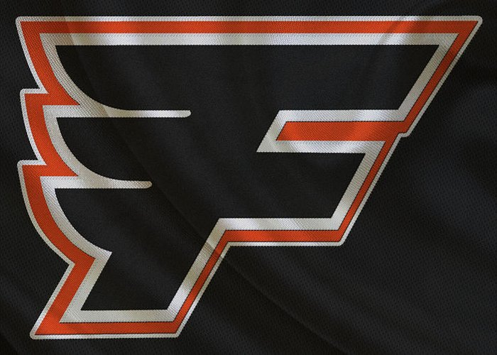 Flyers Greeting Card featuring the photograph Philadelphia Flyers by Joe Hamilton