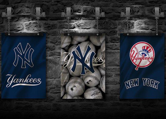 New York Yankees Greeting Cards