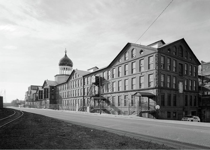 2005 Greeting Card featuring the photograph Colt Factory, 2005 by Granger