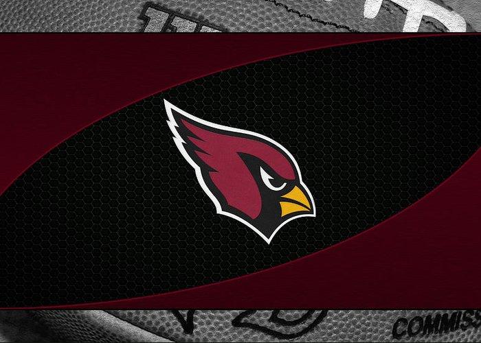 Cardinals Greeting Card featuring the photograph Arizona Cardinals by Joe Hamilton