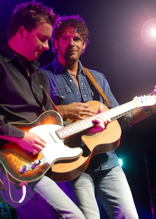 Don Olea Greeting Card featuring the photograph Billy Currington by Don Olea