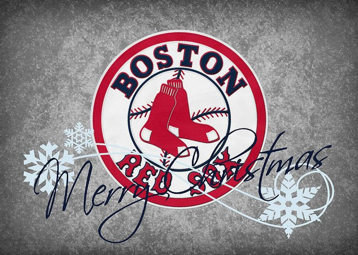 Red Sox Greeting Card featuring the photograph Boston Red Sox by Joe Hamilton