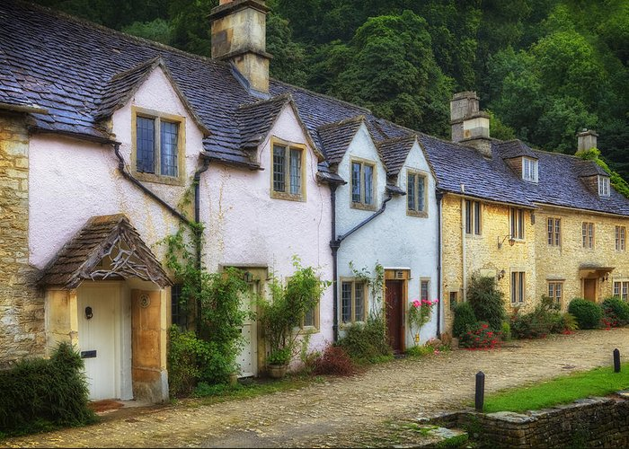 Castle Combe Greeting Card featuring the photograph Castle Combe by Joana Kruse