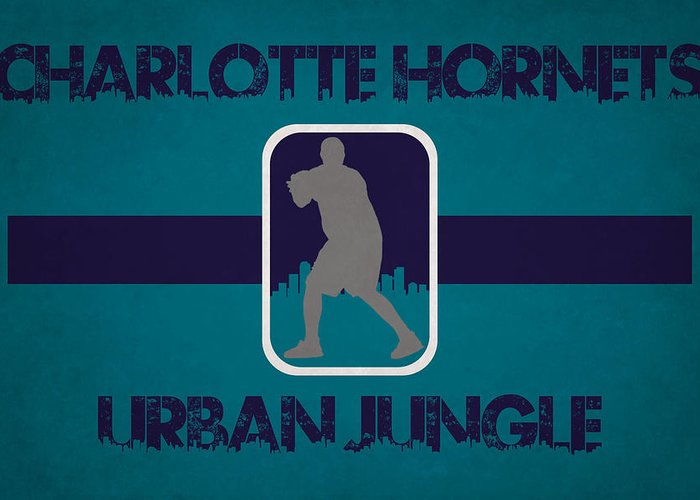 Hornets Greeting Card featuring the photograph Charlotte Hornets by Joe Hamilton