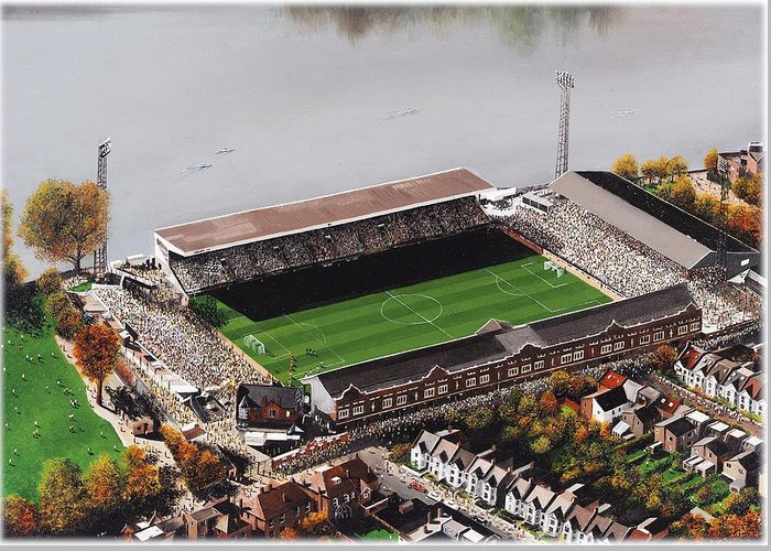 Craven Cottage Greeting Cards