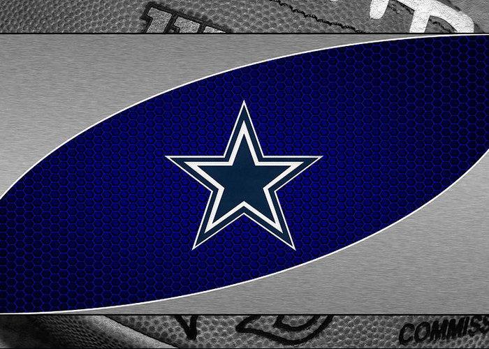 Cowboys Greeting Card featuring the photograph Dallas Cowboys by Joe Hamilton