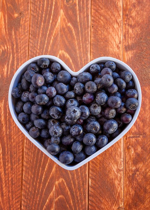 Blueberry Greeting Cards