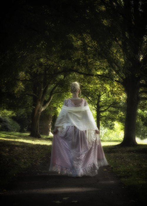 Woman Greeting Card featuring the photograph Jane Austen by Joana Kruse