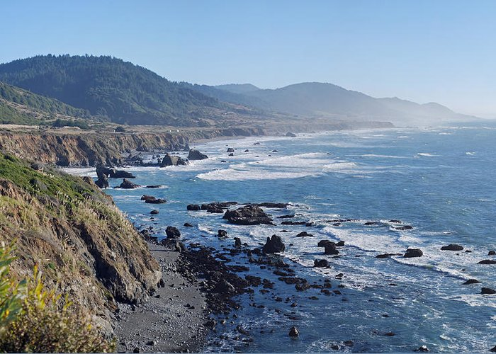 Northern Greeting Card featuring the photograph Northern California Coast by Twenty Two North Photography